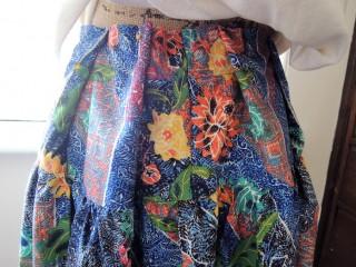 ハンドメイドとDIYの関連性について考えてみた(インドネシアのバティック素材のスカート)