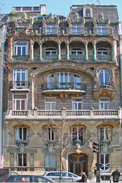 Lavirotte Building Paris