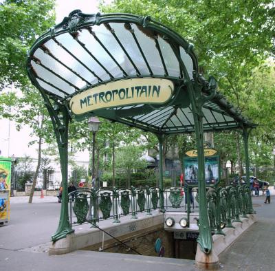 Paris Abesses Metro