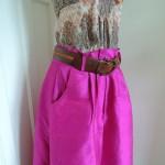 夏色!フューシャのスカート完成!